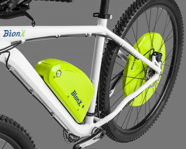 The latest BionX D-series electric bike kit. BionX Electric Bike Kit Review