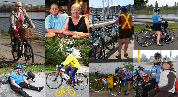 We both have SO much fun cycling, and electric bikes have opened up new possibilities for us!