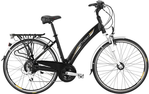 The Easy Motion Neo City comes with rack, fenders and lights all prefitted