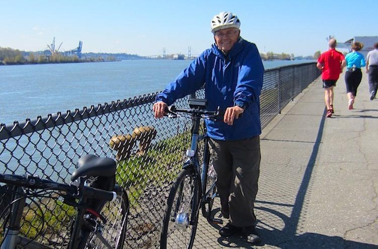 How to Use an Electric Bike to Get Fit. Heart attack survivor Ron Wensel, who still gets a lot of exercise on his electric bike. Sports rehab