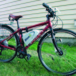 Here's a great hybrid electric bike. It's a Devinci Copenhagen hybrid bike retrofitted with a BionX electric bike kit