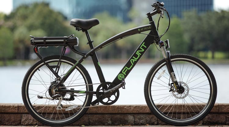 FLAUNT Electric Bicycles launch on Indiegogo