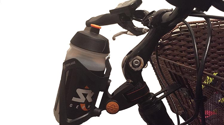 The SKS Bottle Cage fits perfectly on the Emotion Street 650 as well