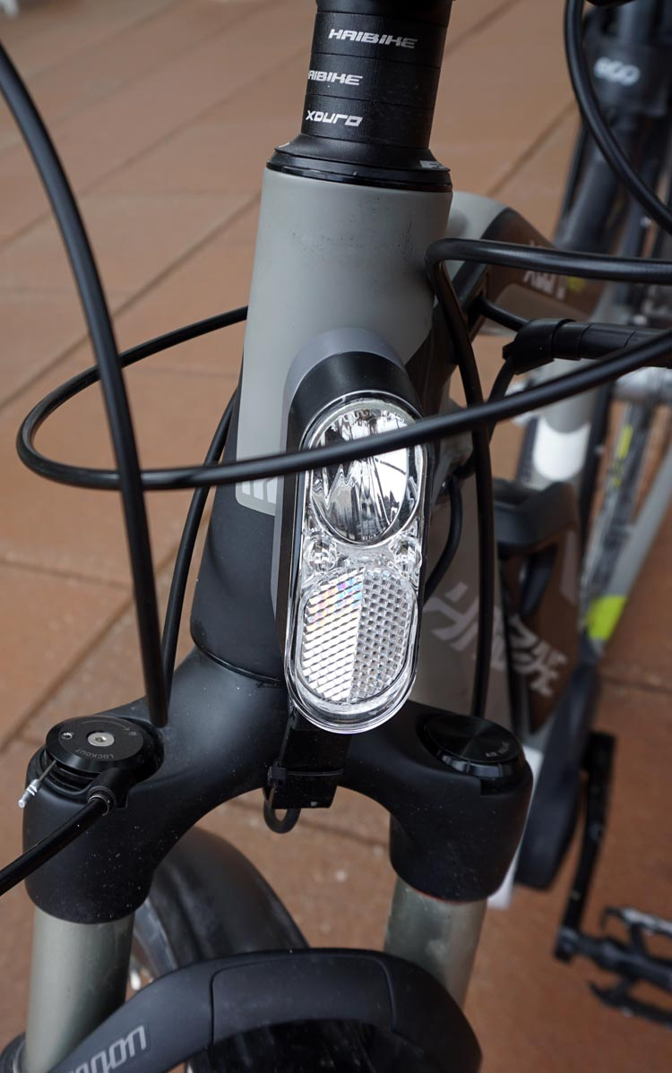 More and more electric bikes have integrated bike lights, which are great. But don't assume they will give enough light - you might need more.