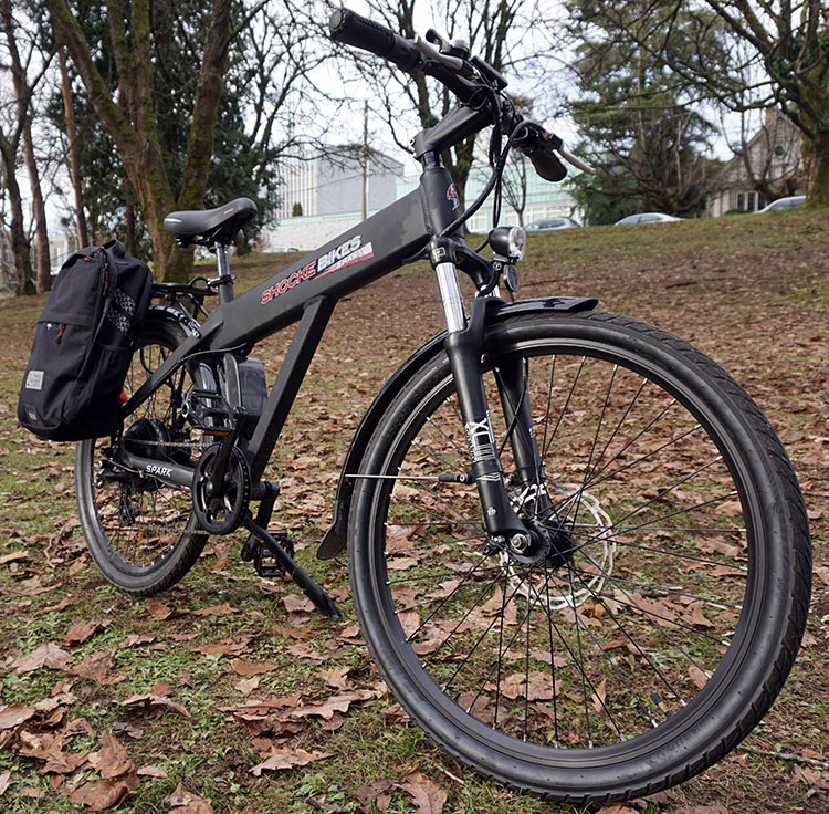 The Spark electric bike looks good without looking flashy. Spark Electric Bike Review