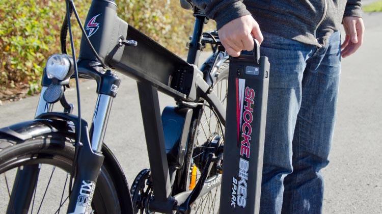 The battery is the most important - and most expensive - part of an e-bike
