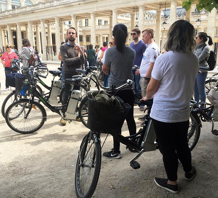 Our guide Fabien was unfailingly enthusiastic and cheerful as he showed us less traveled places and unveiled secrets of Parisian history to us. Guided Electric Bike Tour of Paris