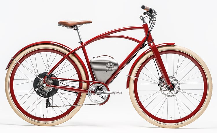The Café is the newest city bike from Vintage Electric. Café by Vintage Electric Bikes