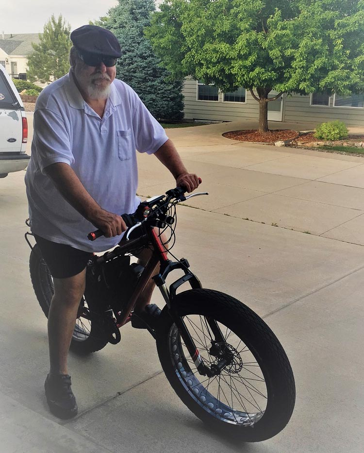 This post is written by Bob Seible, who set out to make the ebike of his dreams in his own garage!