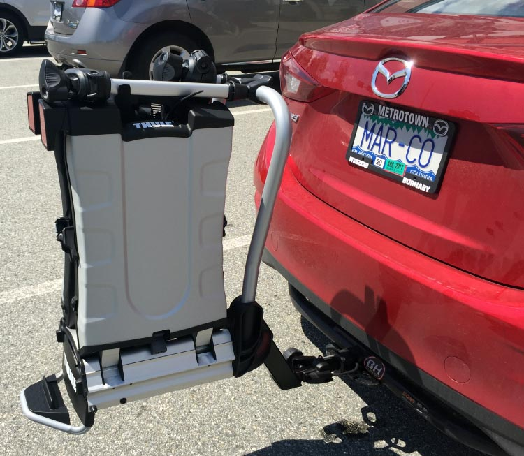 We have owned a lot of bike racks, and the Thule 9032 Easy Fold Electric Bike Rack is the best one by far