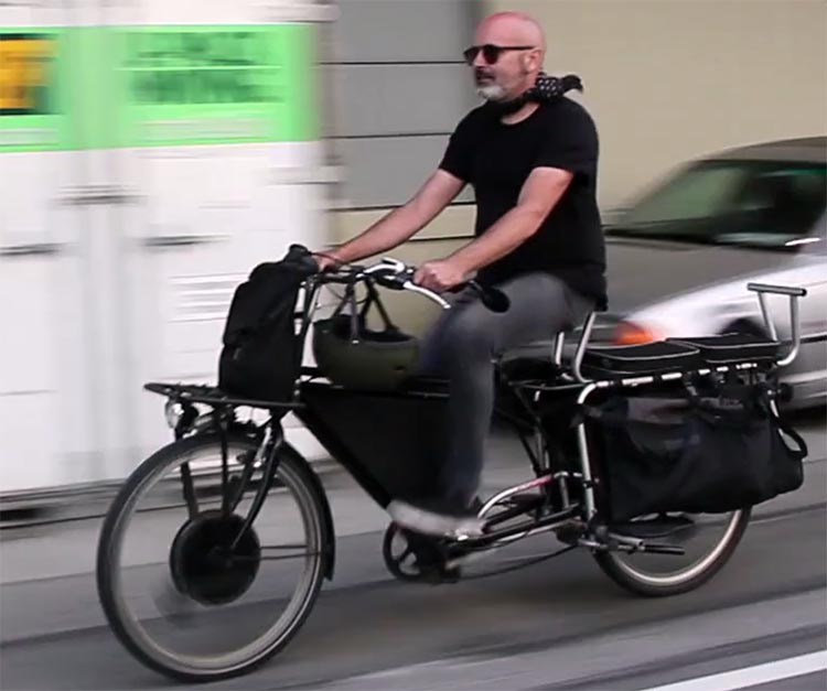 I have been riding the prototype Morrison Electric Cargo Bike for over two years in LA and have put 30,000+ hard miles on it with heavy cargo and lots of passenger