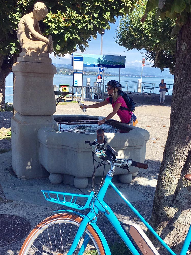One of the great things about Zurich is the huge amount of drinkable water fountains
