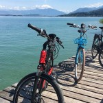 Riding Bosch E-bikes Around Zurich Lake