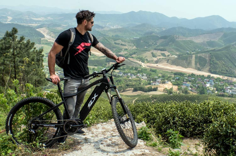 The new electric bike from FLX is meant to empower the thrill seeker and adventurous spirit within us all