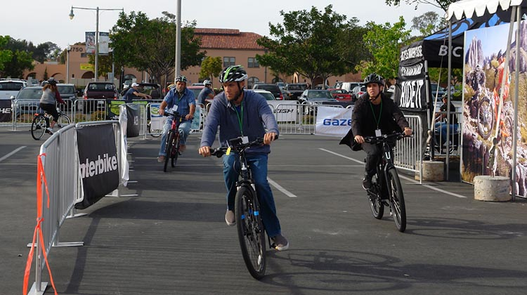 This Electric Bike Expo is a demonstration event that travels the USA, offering the opportunity to test ride more than 150 different ebikes on a closed test track, for free
