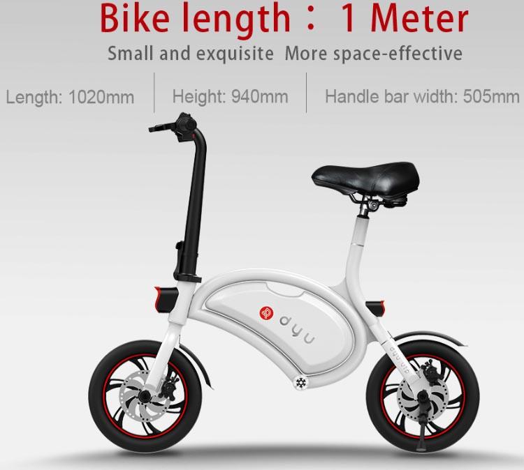 Dyu Smart Bike D1 03