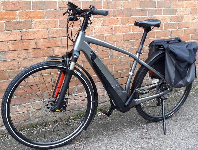 This is John's Specialized Turbo Vado Ebike. Specialized Turbo Vado review