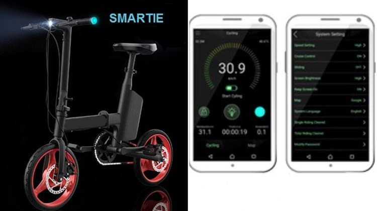 Check out the SMARTIE Folding e-Bike Kickstarter!