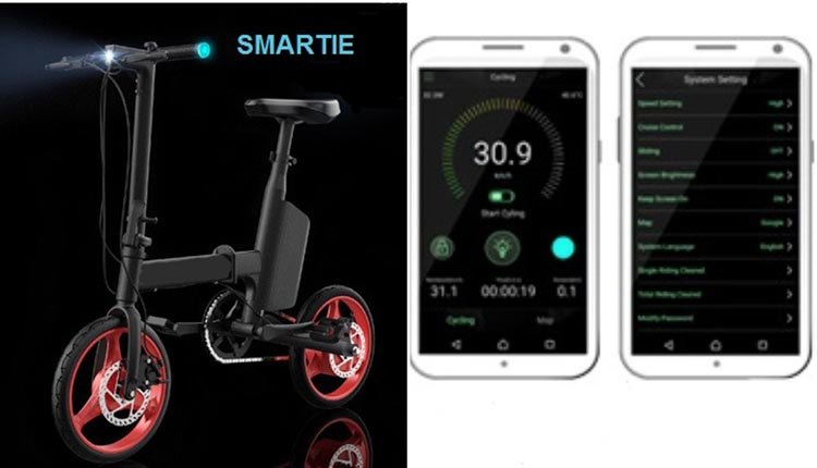 Check out the SMARTIE Folding e-Bike Kickstarter! It is billed as the smartest e-bike ever, and weighs in at just 35 pounds