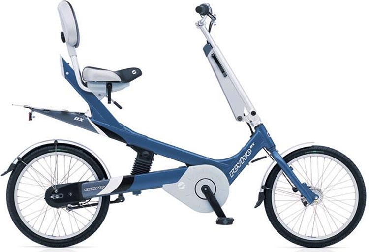 Electric Bike Conversion: Bafang BBS01 motor and Giant Revive. Giant Revive DX, before conversion