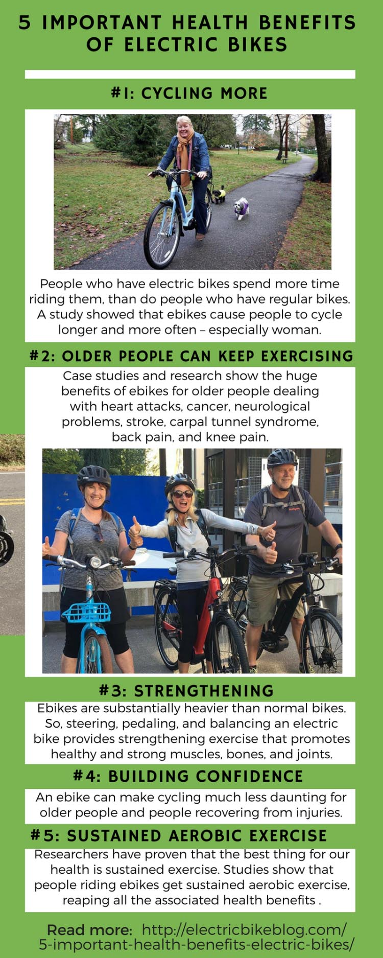 5 Important Health Benefits of Electric Bikes