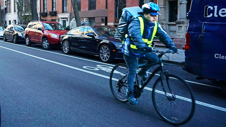 Delivery people, whether on ebikes or regular bikes, have a tough job. They are workers, not killers
