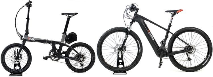 FuroSystems Launches Two New Carbon E-Bikes: Folding and Mountain