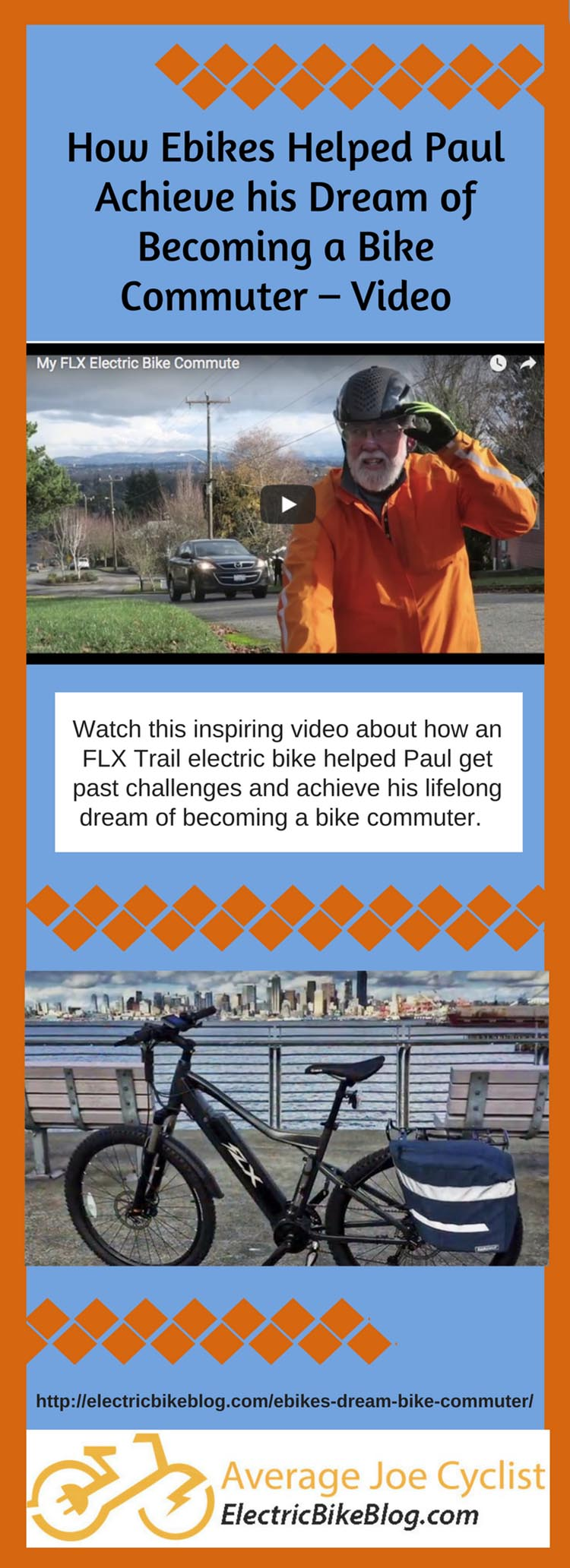 How Ebikes Helped Paul Achieve his Dream of Becoming a Bike Commuter - Video