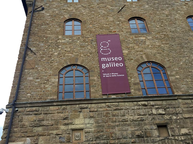 Our Electric Bike tour of Florence: The Museo Galileo is very close to the meeting spot for the Florence Electric Bike Tour. It's a museum dedicated to the history of science, and well worth a visit, if you still have energy after your bike ride!