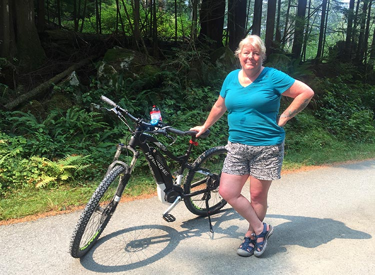Haibike SDURO HardSeven 1.0 Review. Here's Maggie with her Haibike SDURO HardSeven 1.0