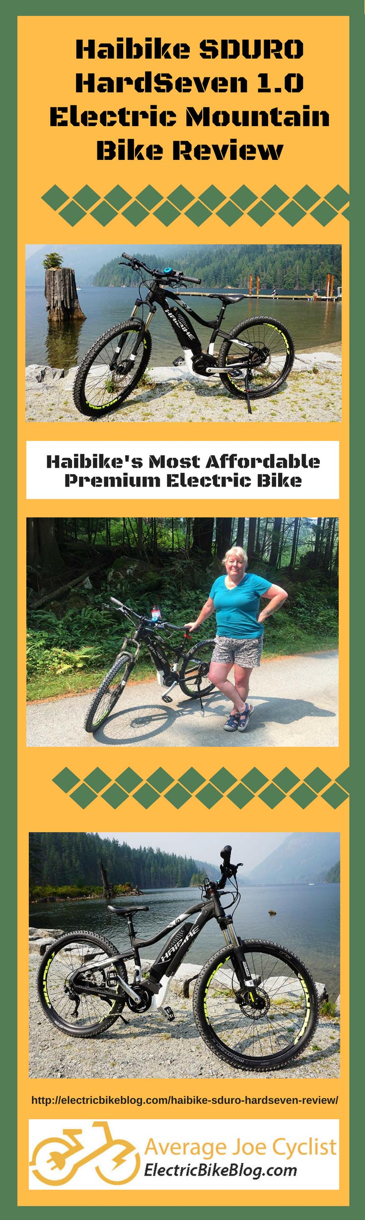 Haibike SDURO HardSeven 1.0 Electric Bike Review