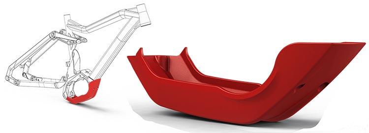 Haibike SDURO HardSeven 1.0 Review. The Haibike Skid Plate