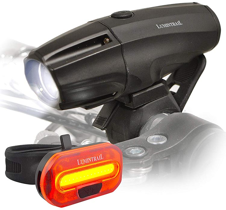 Great Price on Lumintrail Bike Light Set. This Lumintrail Bike Light set is affordable and easy to install