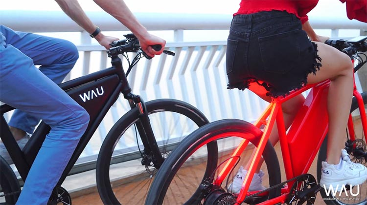 Affordable New Feature-Packed WAU Ebike on IndieGogo