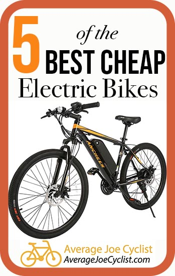5 of the best cheap ebikes