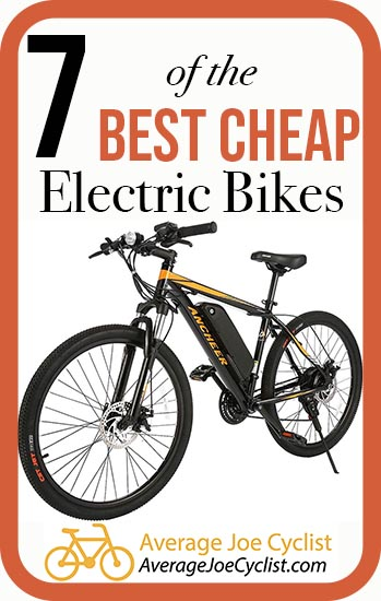 7 of the beset cheap electric bikes