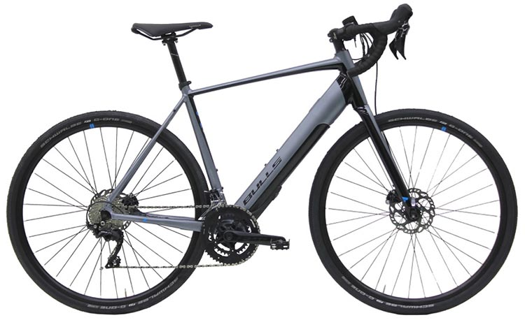 New Bulls EBikes with Integrated Fazua Evation Drive System. Grinder Evo Lite, BULLS' flagship e-gravel bike