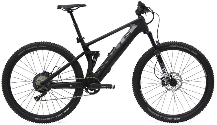 New Bulls EBikes with Integrated Fazua Evation Drive System. Wild Flow Evo RS
