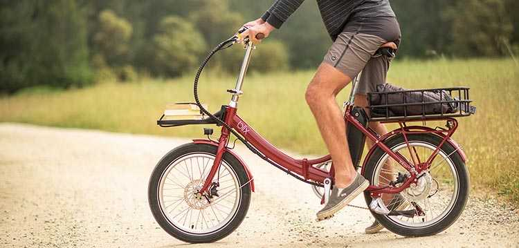 The Vika+ Flex electric folding bike can be integrated into your healthy lifestyle